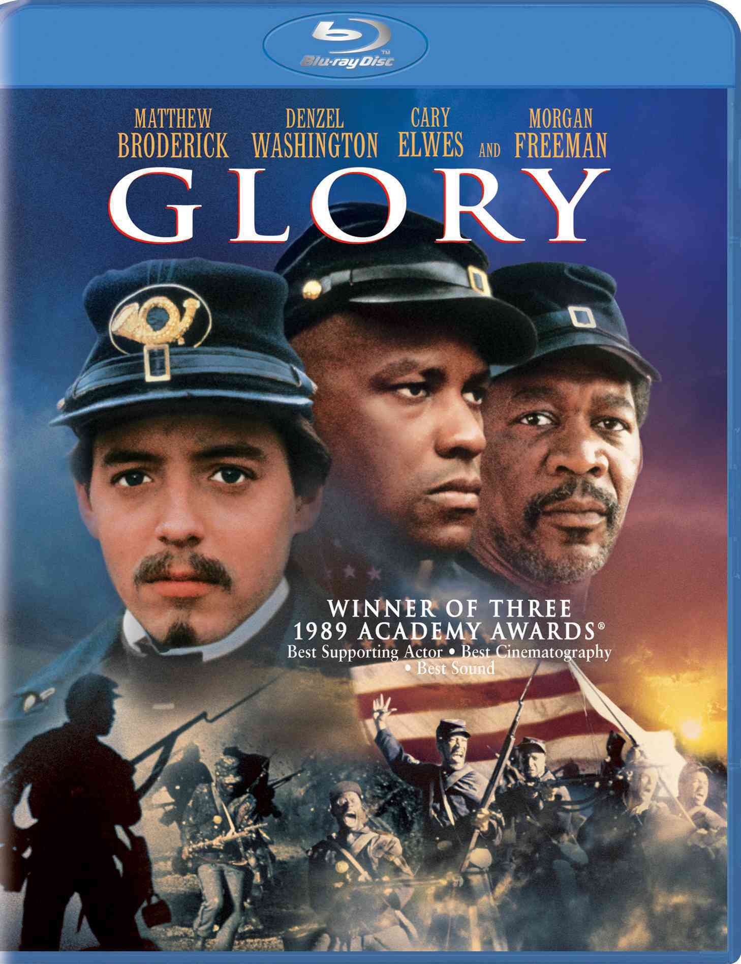 GLORY BY BRODERICK,MATTHEW (Blu-Ray)